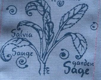 Sage Silkscreen Patch
