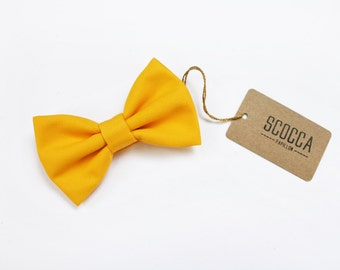 Bow tie yellow baby, lemon tie for baby boy 0/12 years,pageboy,carrier rings,children's wedding,baby dress for wedding,baby accessories gift