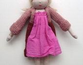 handmade doll,Waldorf, doll, pop, handgemaakt, poppen dolls softdoll puppen