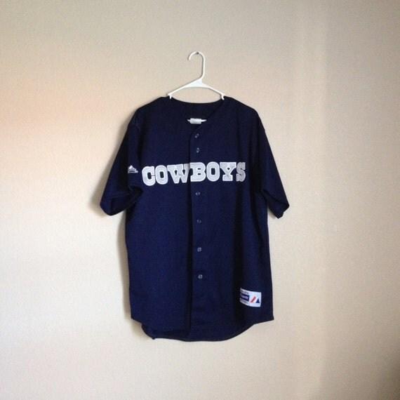 cowboys baseball jersey