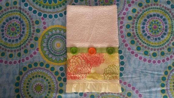 Beige Multi Towel Fancy Decorative Towels By Linascrafts