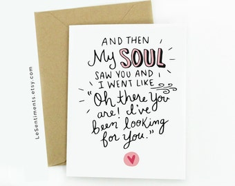 Funny Greeting Card - Anniversary Card - Love - Cute Greeting Card