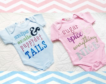 What Babies are Made of Embroidery Design Set