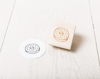 Donut - Rubber Stamp