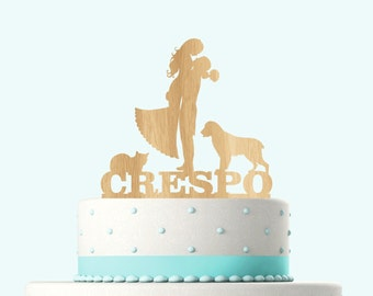 Wedding Cake Toppers Rustic Personalized with YOUR Names, Wood Cake Topper, Rustic cake topper