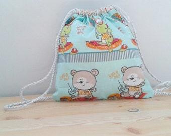 Baby backpack,children backpack, kid backpack,children bag, baby bag, kawaii bag, school bag,lunch bag,clothes baby bag, bears bag