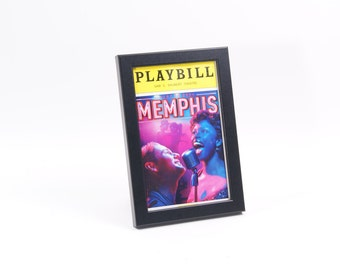 black playbill frames broadway off broadway theatre and all playbills display perfectly in this self standing frame with wall hanger