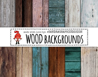 """Wood digital paper: """"WOOD TEXTURES"""" with wood backgrounds, wood textures, colored wood (1101)"""