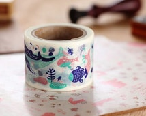 Sea Creatures | Aimez Le Style 38mm Wide Washi Tape (03768)
