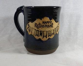 Retirement Mug-Pottery-Coffee mug