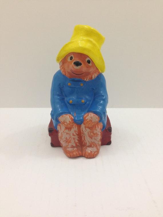 Paddington Bear Piggy Bank By Gorham 1978