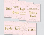 Printable Pink and Gold B...