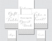 Printable Chevron Baby Sh...