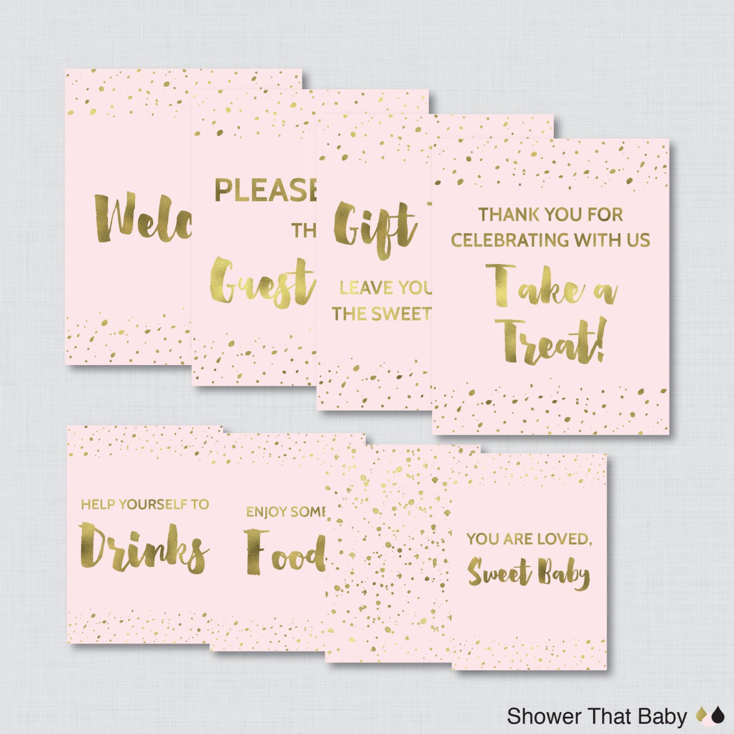 It is a graphic of Old Fashioned Free Printable Baby Shower Signs