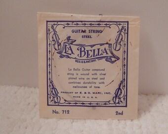 VINTAGE Guitar String By La Bella, New Old Stock