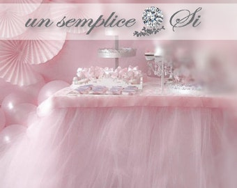 Tulle Table Skirt Accessories