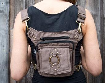 Eclipse Bag II (hip belt, pocket belt, utility belt, leg belt, backpack, dynamic bag, versatile, festival belt, vending belt, Burning Man)