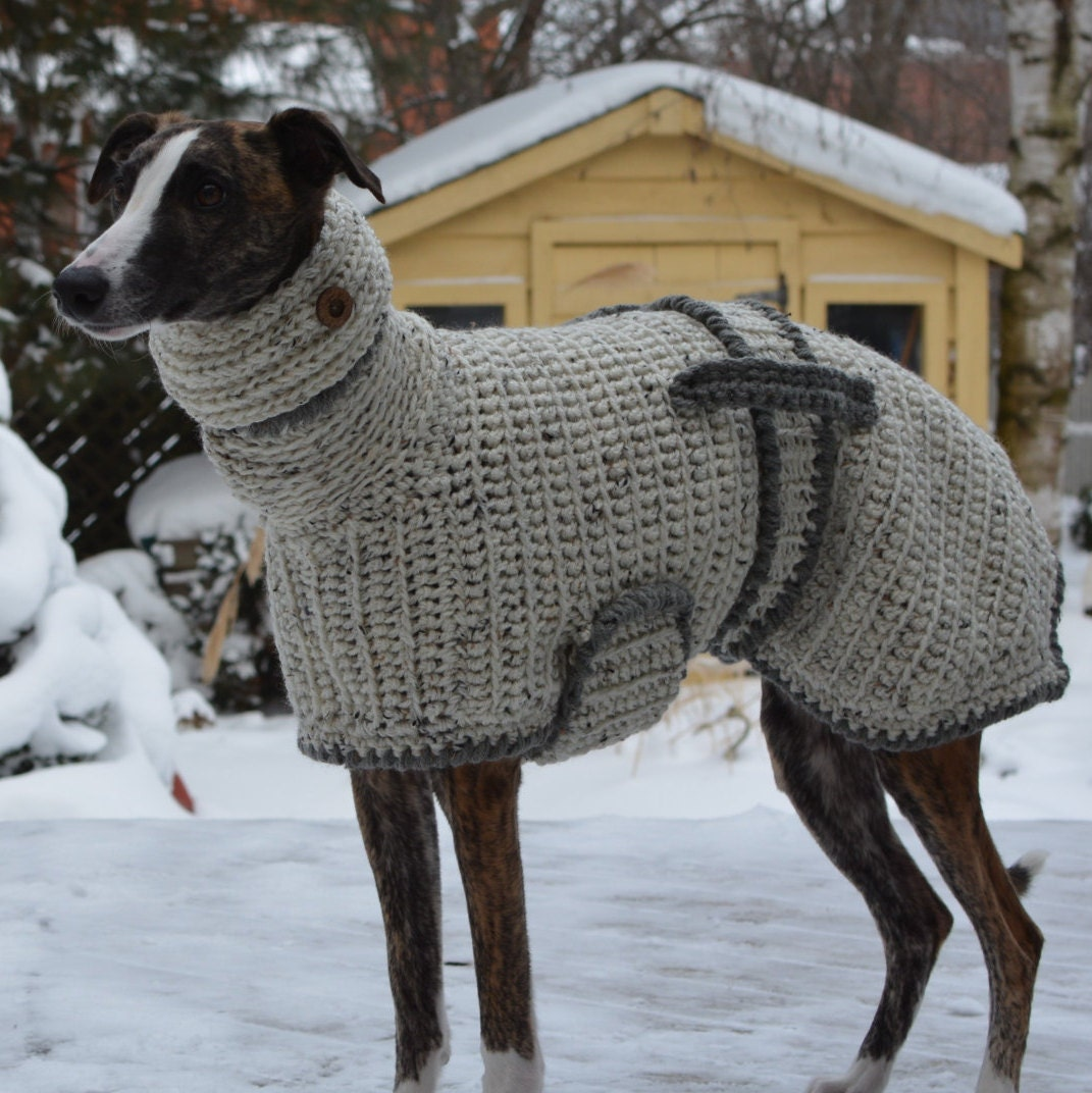 Knitting Patterns For Greyhound Sweaters : Greyhound Sweater Greyhound Coat by CTDESIGNSBESPOKEBAGS ...