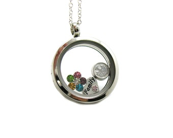 how to make your own floating charms