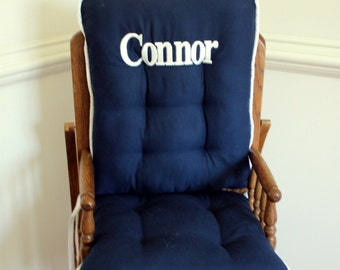 Solid Color High Chair Cushions, High Chair Pads, High Chair Cover, Highchair Pads, Wooden Highchair Pads