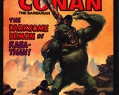 Savage Sword of CONAN 84 Robert E. Howard Michael Fleisher Val Mayerik Barbarian Sword & Sorcery Fantasy