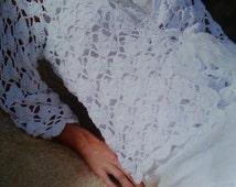 Handmade crochet blazer, summer crochet top, romantic sweater, crochet jumper women crochet clothes MADE TO ORDER