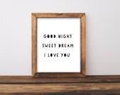 Good Night Sweet Dream I ...