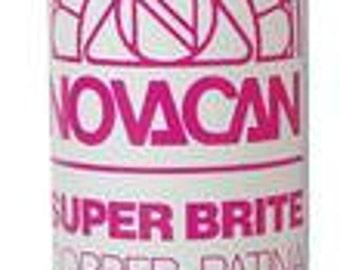 Copper Patina-8 oz- Stained Glass Supplie-Solder Supplies-Novacan Super Brite Copper Patina