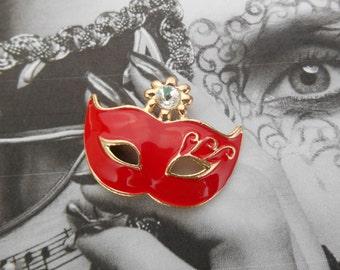 Masquerade Mask Pendant