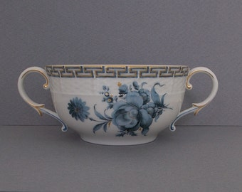 Antique Nymphenburg Porcelain Two Handled Cup