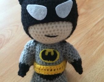 Batman Crochet Doll