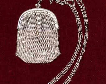 ALPACA mesh bag - 1920's
