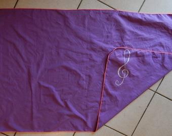 Microfire custom beach towel