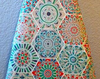 Geometric Ironing Board Cover