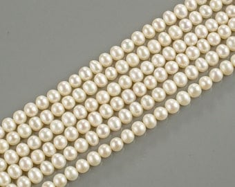5mm A Quality Round Freshwater Pearl