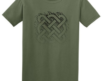 Celtic graphic tee- unisex, boho clothing, gifts for men, mens t shirts, ethnic clothing, music festival clothing, mens shirts, tshirts men