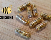 Pure Raw Bee Pollen in Capsules 30 Count 1 Months Supply Beez Nutz Phoenix Arizona