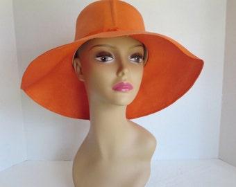 Vintage Summer Large Brimmed Hat