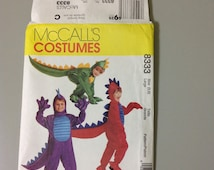 McCall's Costumes 8333 Childs Dragon Costume Size M 3-4 ©1996 UNCUT SALE - Marked Down For Clearance