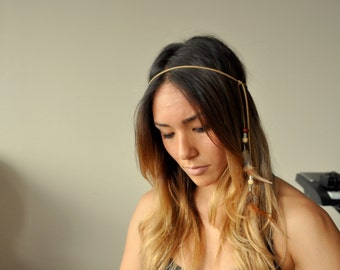 Feather Headband - Belt - Necklace - Arm Band - Bracelet - Anklet