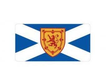 Scotland St. Andrews Cross Flag Photo License Plate - LPO869