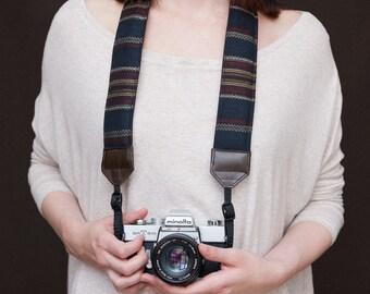 Loane's strap - Brown - Comfy padded camera strap - DSLR