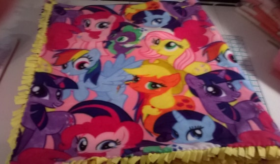 My Little Pony Fleece Blanket Toddler Bed Size By