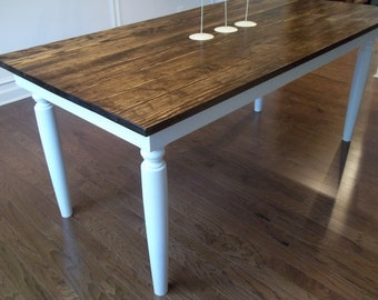 Italian Farmhouse Dining Table