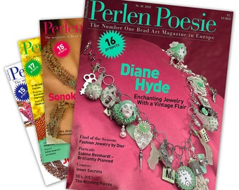 Two-Year Subscription to Perlen Poesie Quarterly - Free US Shipping