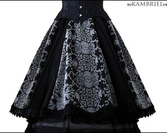 Filigree Shadow Skirt by Kambriel - Brand New & Ready to Ship!
