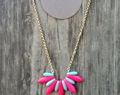 Spark Necklace: Strawberry Splash