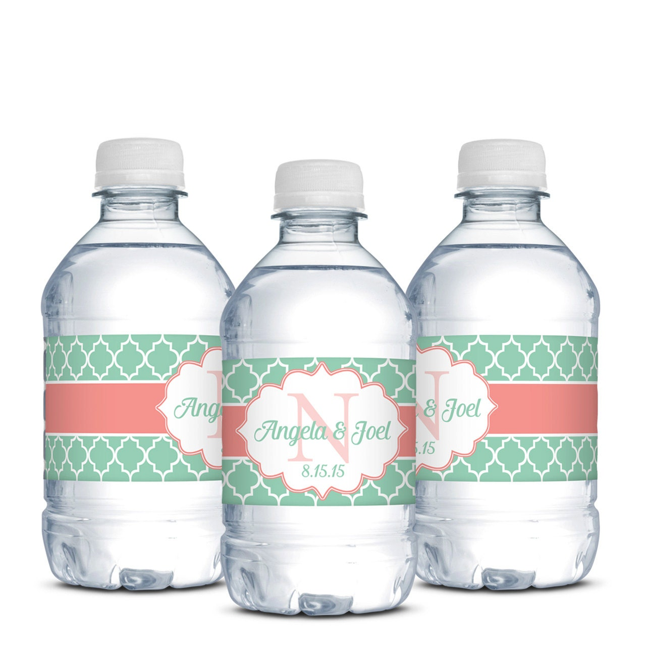 wedding water bottle labelswaterproof by designedbyme on etsy