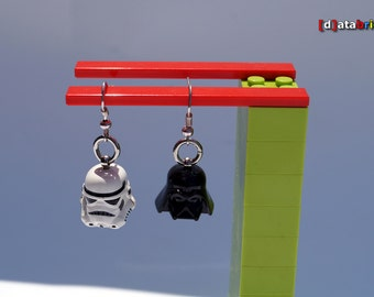 Earrings nickel free made with original Lego® Parts