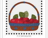 Apple Basket appliqué block